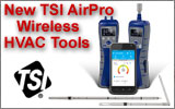 TSI AirPro wireless Air Velocity Meter and Micromanometer