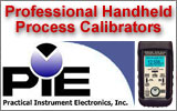 PIECAL Precision Handheld Process Calibrators