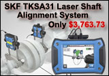 SKF TKSA 31 Laser Shaft Alignment System with Color Touchscreen