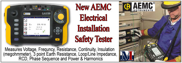 AEMC 6116N Multination Installation Tester