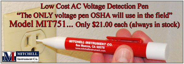 AC Voltage Detection Pen - Non Contact