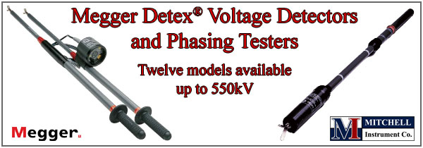 Megger Detex High Voltage Detectors
