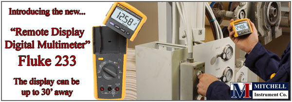 new fluke 233 remote display multimeter