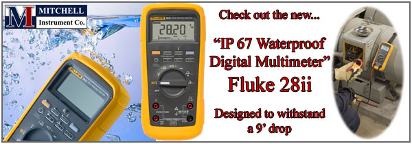 new fluke 28ii ip67 waterproof industrial multimeter