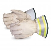 Superior Gloves 365DLX2 Hydro Deluxe Lineman Gloves With 2-inch Reflective Safety Cuffs