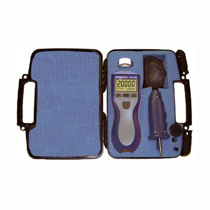 Monarch Instrument PLT200KIT Laser//Contact Pocket Tachometer Kit with RCA Kit